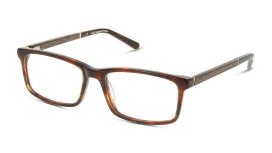 DB OM5012 Men's Glasses Transparent / Brown