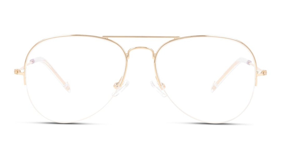 Unofficial UNOF0068 Women's Glasses Gold