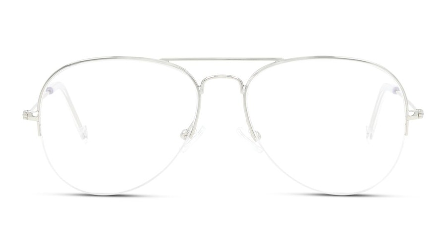 Unofficial UNOM0068 Men's Glasses Silver
