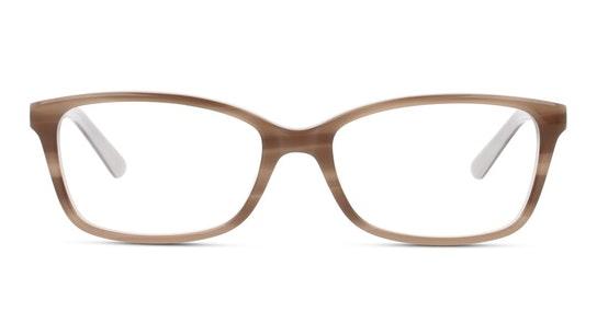 DB OF0010 Women's Glasses Transparent / Brown