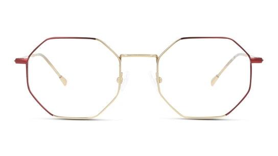 FU LF01 Women's Glasses Transparent / Gold