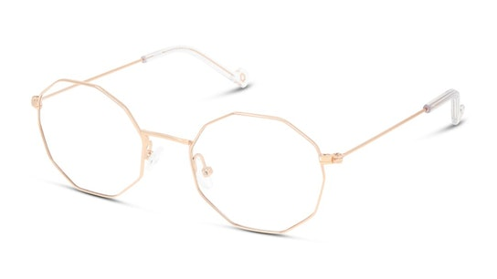UNOT0070 Children's Glasses Transparent / Rose Gold
