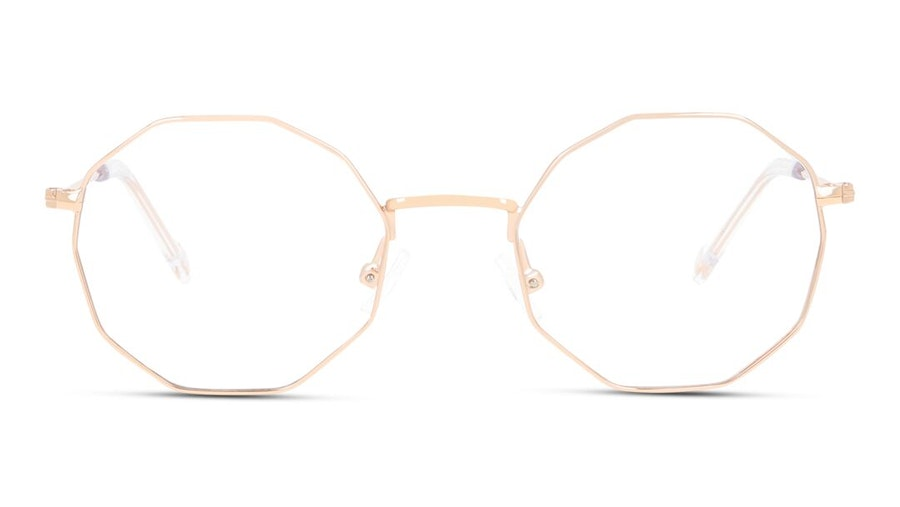 Unofficial UNOT0070 Children's Glasses Rose Gold