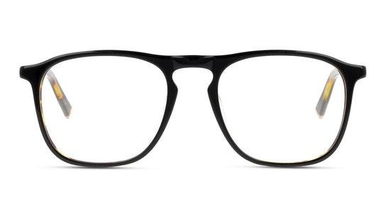 UNOM0129 Men's Glasses Transparent / Black