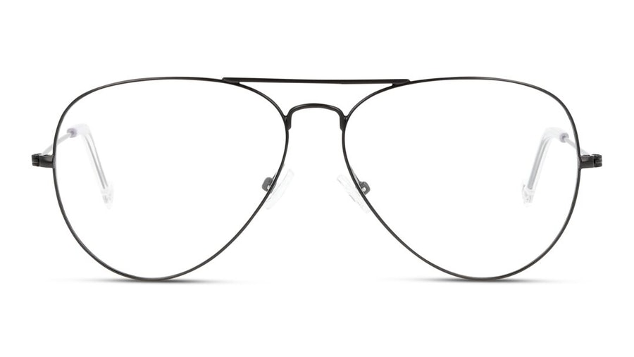 Unofficial UNOM0155 (Large) (BB00) Glasses Black 1
