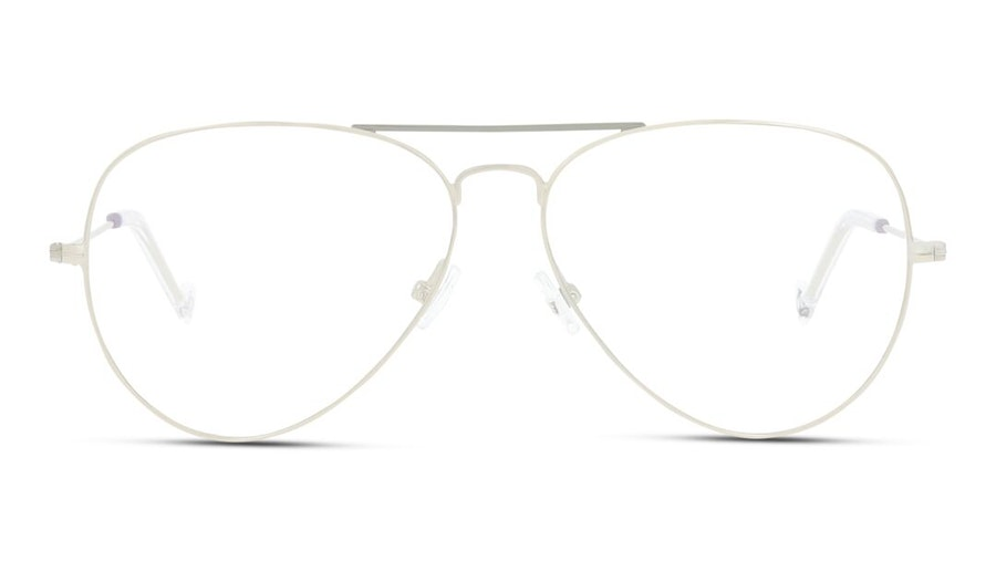 Unofficial UNOM0155 (Large) Men's Glasses Silver