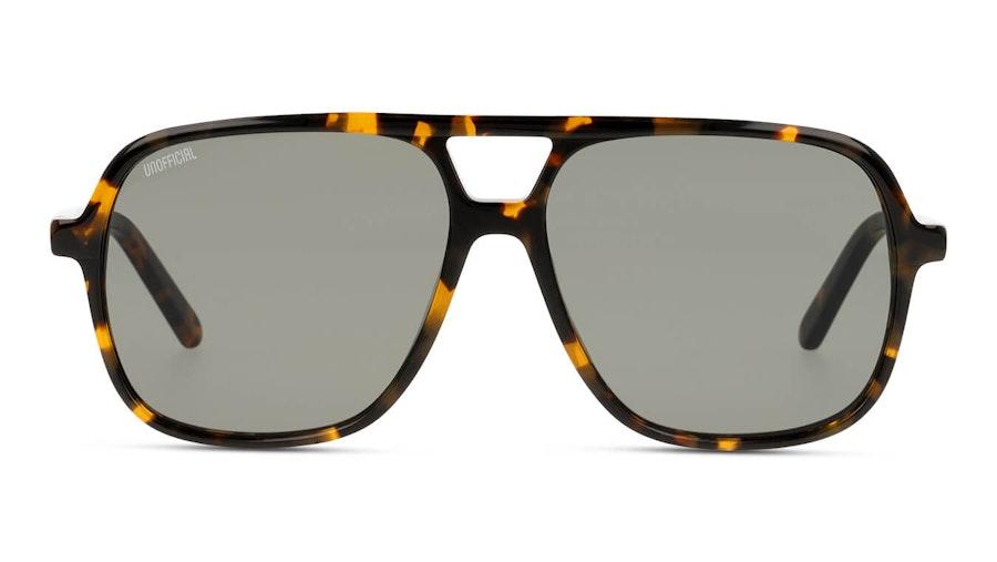Unofficial UNSM0014 Men's Sunglasses Green / Tortoise Shell