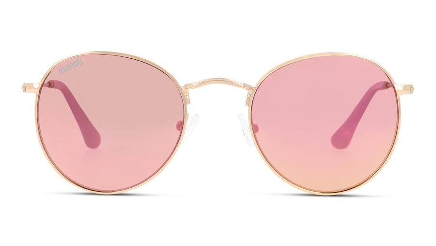 Unofficial UNSU0050 Unisex Sunglasses Pink/Gold