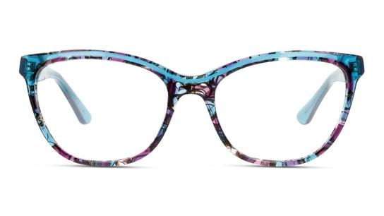 MN OF0008 Women's Glasses Transparent / Violet