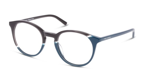 MN OF0010 Women's Glasses Transparent / Silver