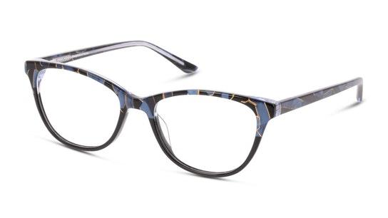 MN OF0009 Women's Glasses Transparent / Blue