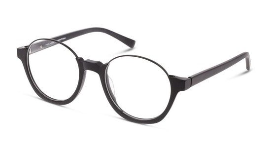 MN OM0007 Men's Glasses Transparent / Black