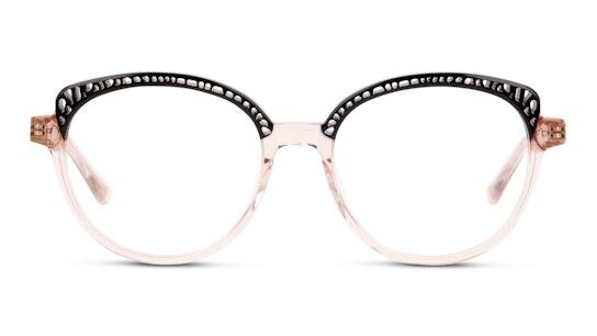 MN OF0001 Women's Glasses Transparent / Black