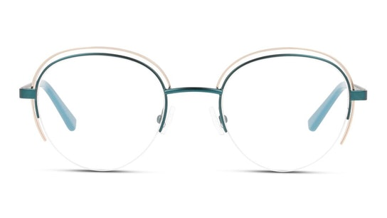 MN OF0005 Women's Glasses Transparent / Green