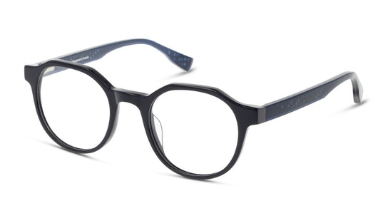 MN OM0002 Men's Glasses Transparent / Navy