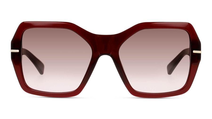 Sensaya SY SF0009 Women's Sunglasses Brown/Burgundy