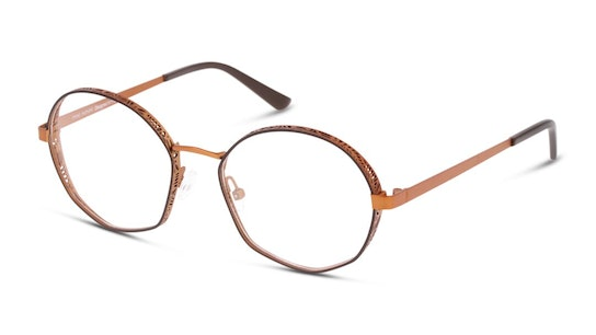 MN OF5003 Women's Glasses Transparent / Brown