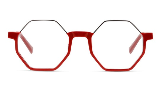 MN OM0035 Women's Glasses Transparent / Red