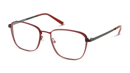 MN OM5002 Men's Glasses Transparent / Red