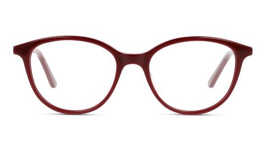 UNOF0231 Women's Glasses Transparent / Burgundy