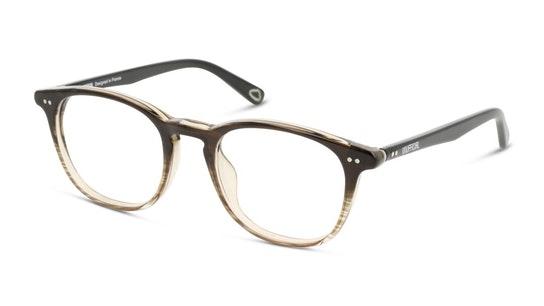 UNOM0186 Men's Glasses Transparent / Grey