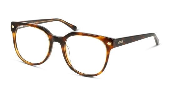 UNOF0248 Women's Glasses Transparent / Havana