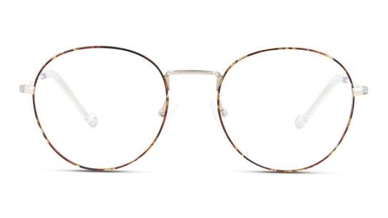 UNOM0065 Men's Glasses Transparent / Havana
