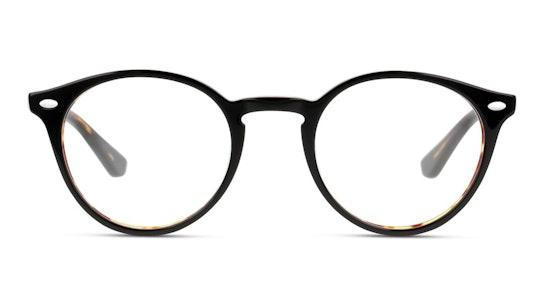 UNOM0189 Men's Glasses Transparent / Havana
