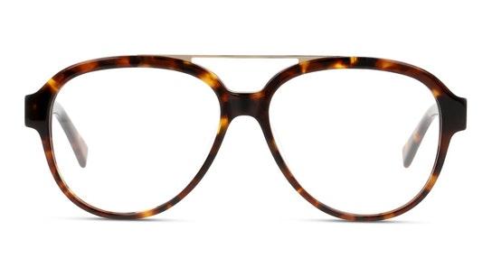 UNOM0192 Men's Glasses Transparent / Havana