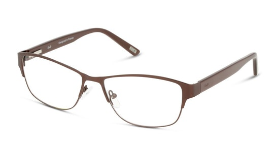 DB OF0036 (Large) Women's Glasses Transparent / Brown
