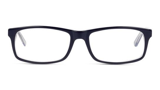 DB OM0028 Men's Glasses Transparent / Blue