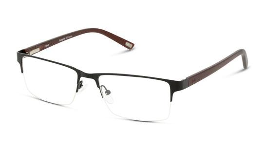 DB OM0031 Men's Glasses Transparent / Black