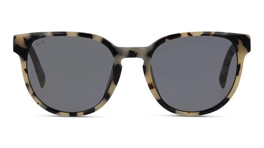 Bio-Acetate DB SF5003 Women's Sunglasses Blue / Beige