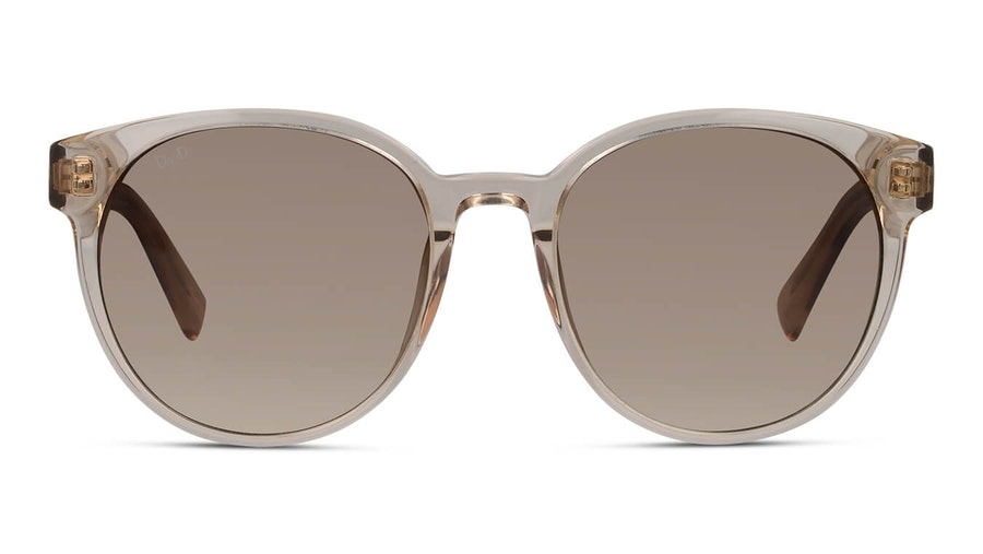 DbyD DB SF5004 Women's Sunglasses Brown/Transparent