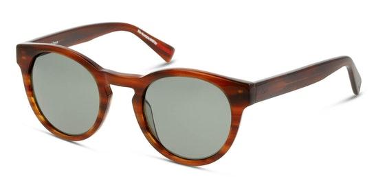 Bio-Acetate DB SF5006 Women's Sunglasses Green / Beige