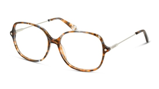 UNOF0271 Women's Glasses Transparent / Havana