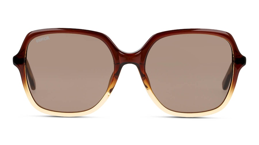 Unofficial UNSF0131 Women's Sunglasses Brown/Brown