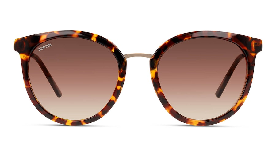 Unofficial UNSF0130 Women's Sunglasses Brown/Tortoise Shell