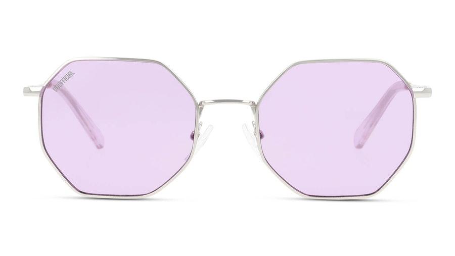 Unofficial UNSU0075 Women's Sunglasses Violet/Silver