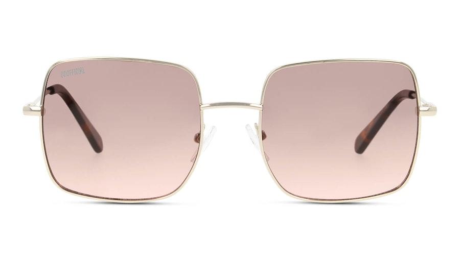Unofficial UNSU0078 Men's Sunglasses Brown/Gold