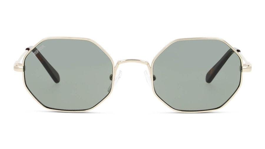 Unofficial UNSU0080 Unisex Sunglasses Green/Gold