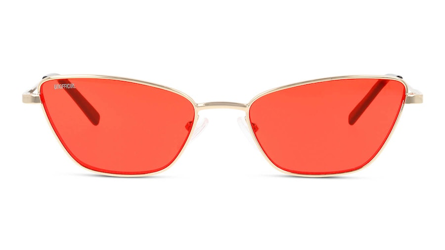 Unofficial UNSF0136 (DDR0) Sunglasses Red / Gold