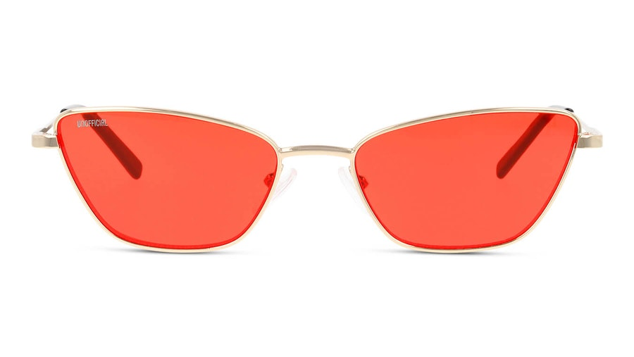 Unofficial UNSF0136 Women's Sunglasses Red/Gold