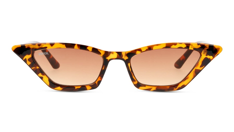 Unofficial UNSF0137 Women's Sunglasses Brown / Tortoise Shell