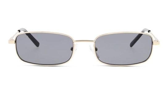 UNSU0087 Unisex Sunglasses Grey / Gold