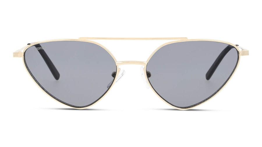 Unofficial UNSU0088 Women's Sunglasses Grey / Gold