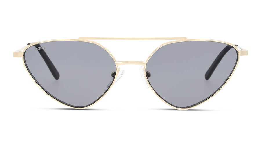 Unofficial UNSU0088 Women's Sunglasses Grey/Gold