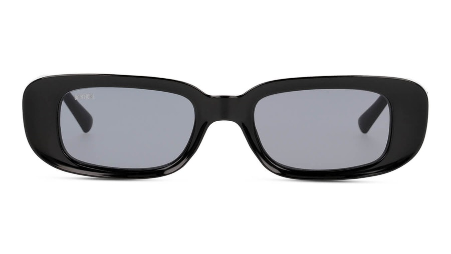 Unofficial UNSU0090 Unisex Sunglasses Grey/Black
