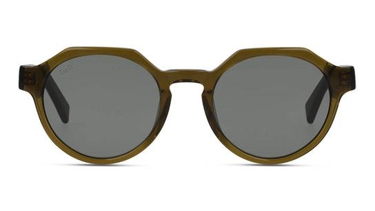 Bio-Acetate DB SU5003 Unisex Sunglasses Green / Brown
