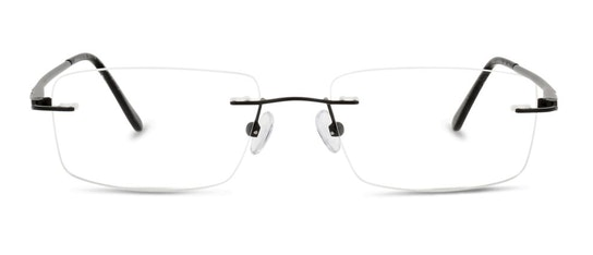 LF AM16 Men's Glasses Transparent / Black